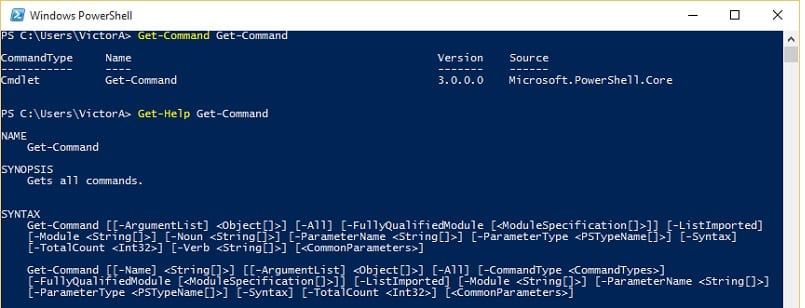 PowerShell Command Guide for newbies