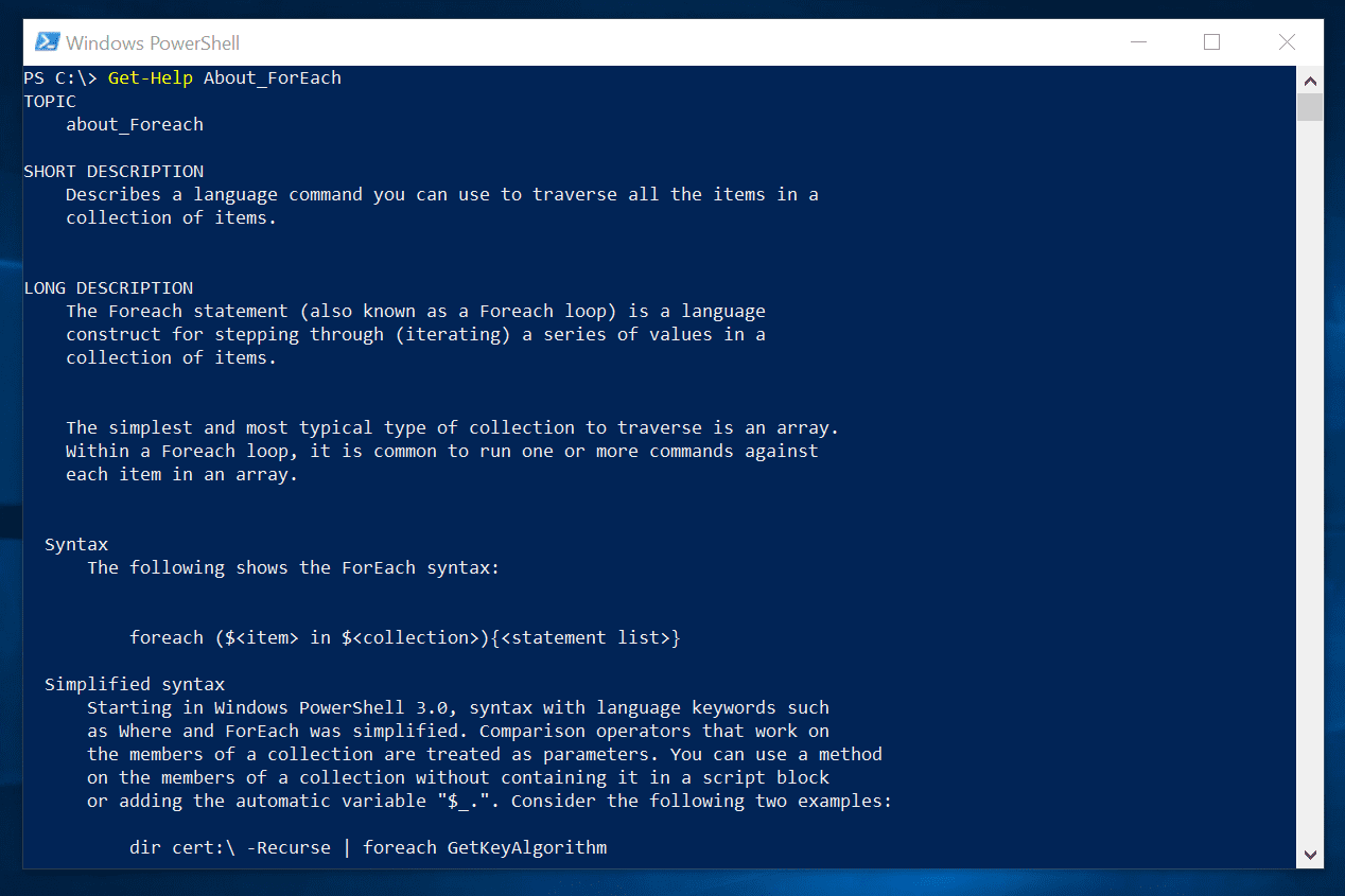 How To Run Powershell Script