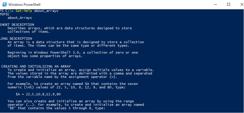 Read About Powershell Array Of Arrays In Detail. - Techyv.com