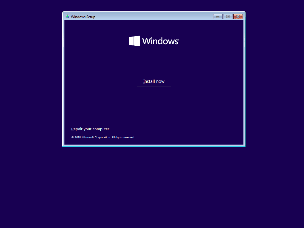how to install windows 10 - click Install to begin windows 10 installation ).png