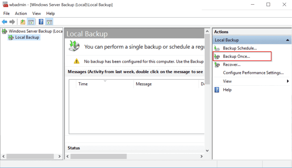 What is Active Directory (AD) - Windows server backup