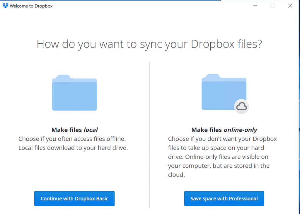 download files from dropbox to computer