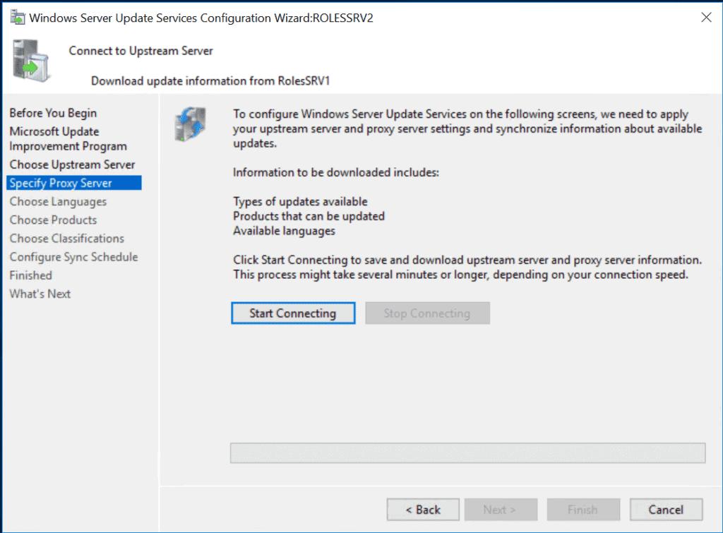 WSUS (Windows Server Update Service)