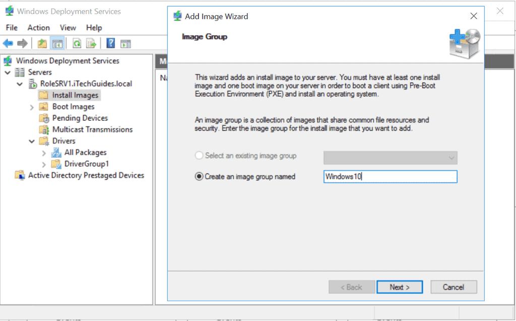 Windows Deployment Services (WDS)