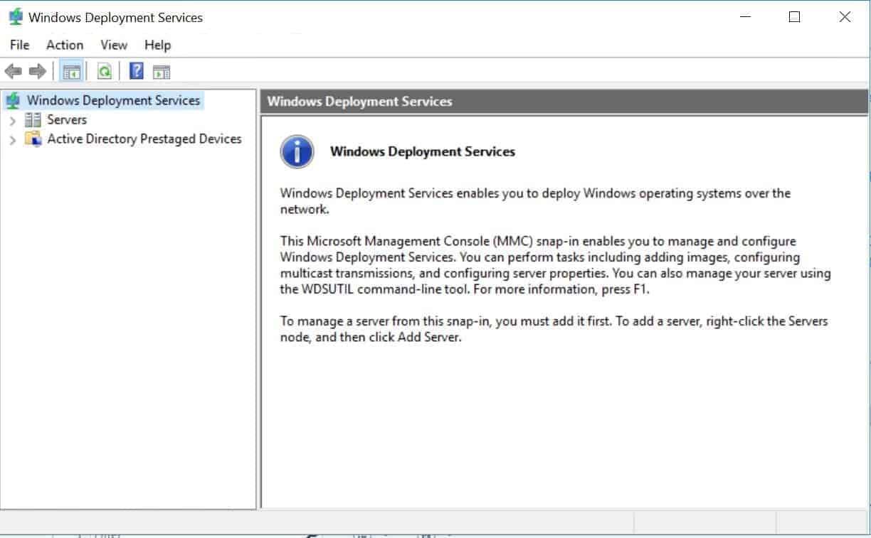 Setup WDS Server 2016 (Install, Configure WDS in Windows
