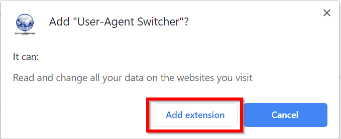 spotify web player not working - install user-agent switcher for Chrome