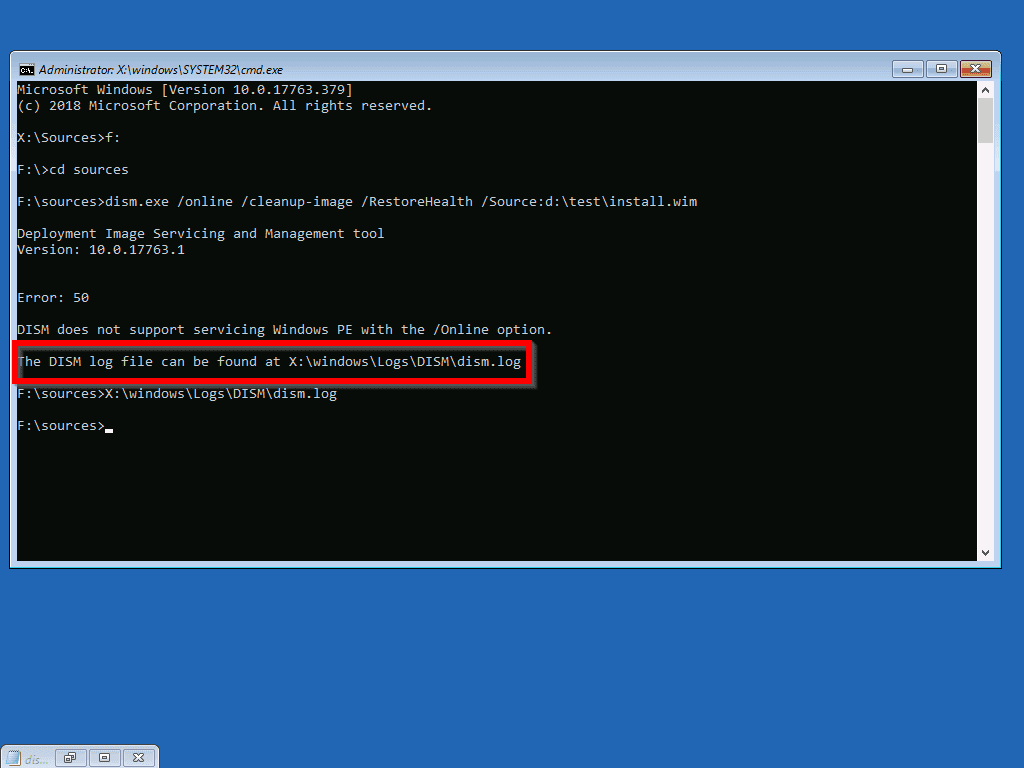DISM exe /Online /Cleanup-Image /Restorehealth Explained