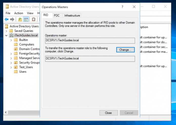 Active Directory FSMO Roles