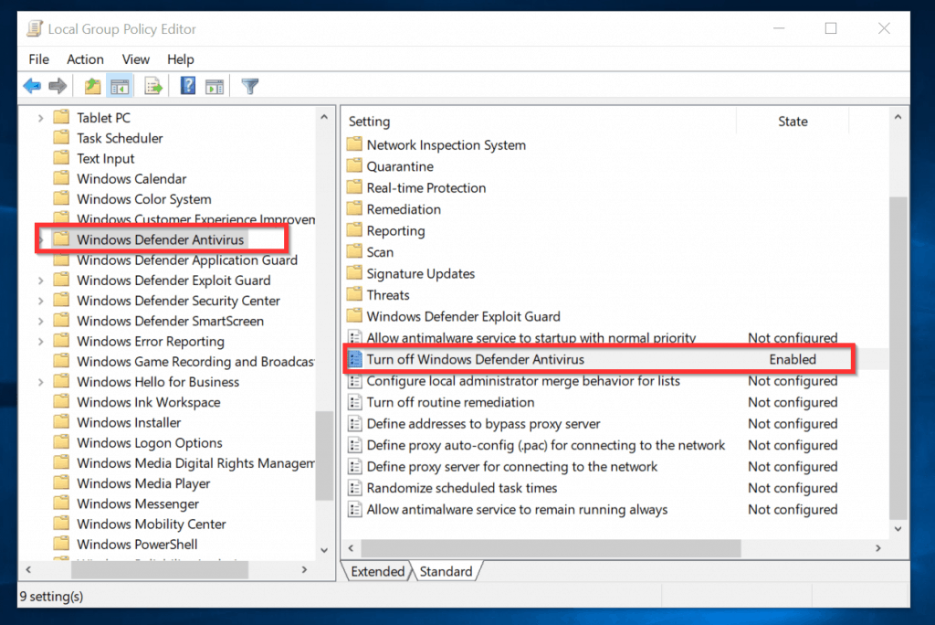 Windows Defender Blocked by Group Policy [Fixed]