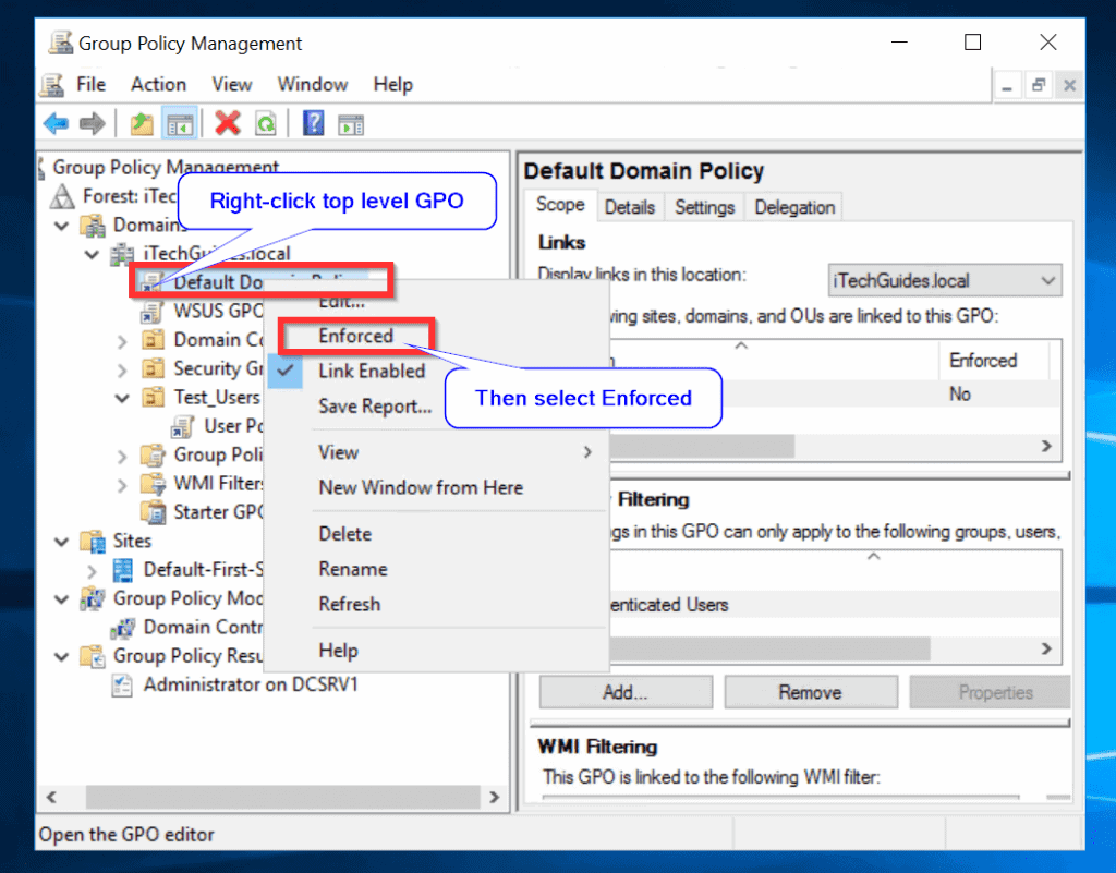 Group Policy, Group Policy Object and RSoP Explained