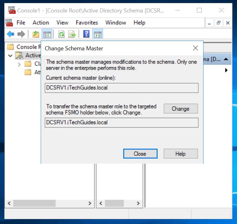 Schema Master Active Directory FSMO Role