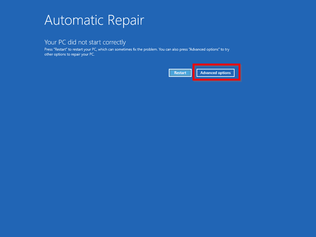 Windows 10 Won't Boot - boot to Automatic Repair mode