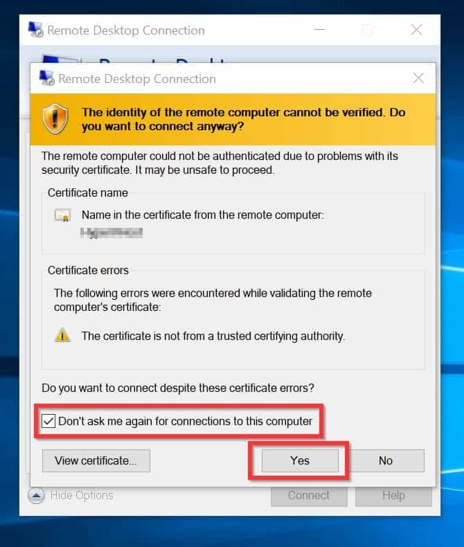 Remote Desktop Connection an Internal Error Has Occurred [Fixed]