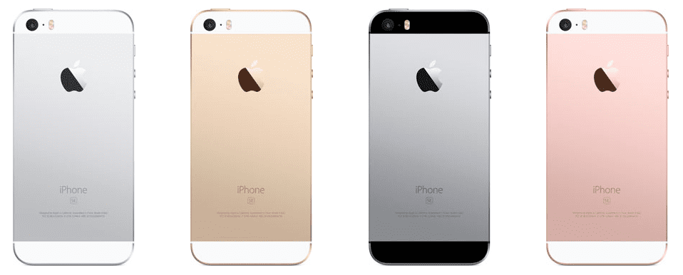 iPhone SE vs iPhone 6s: Available Colors