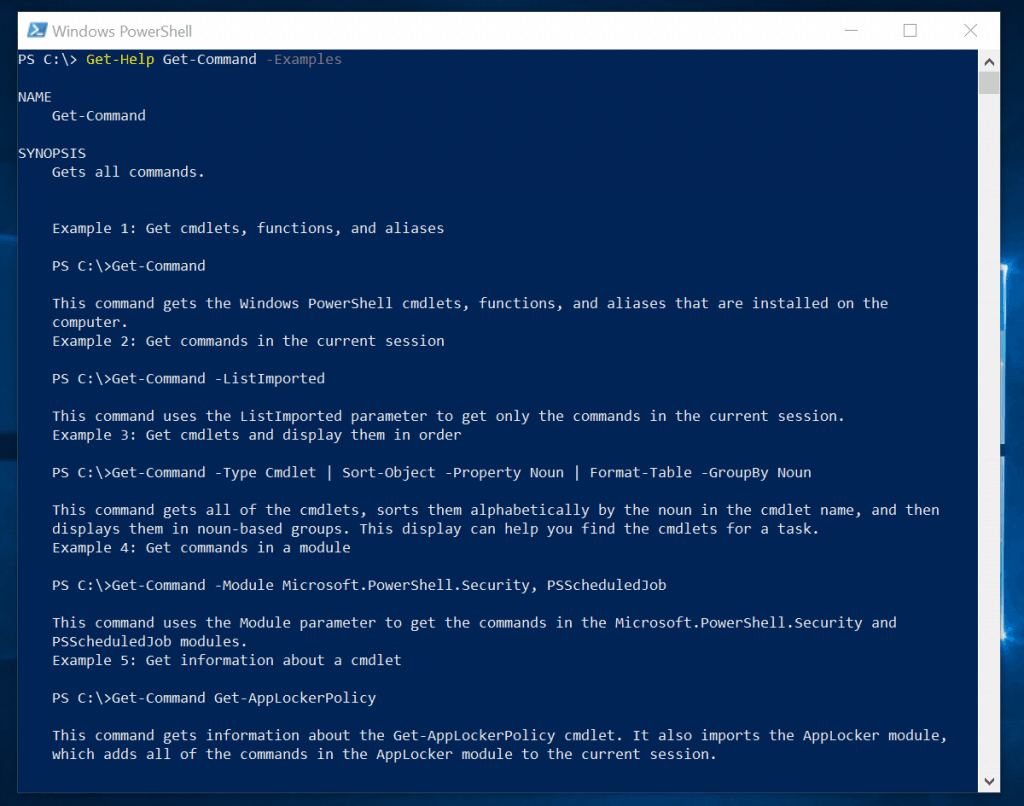PowerShell Help: Get Help in PowerShell with Get-Help Command