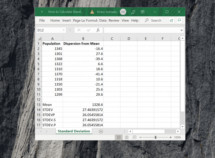 How-to-Calculate-Standard-Deviation-in-Excel