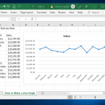 How to Make a Line Graph in Excel and Google Sheets