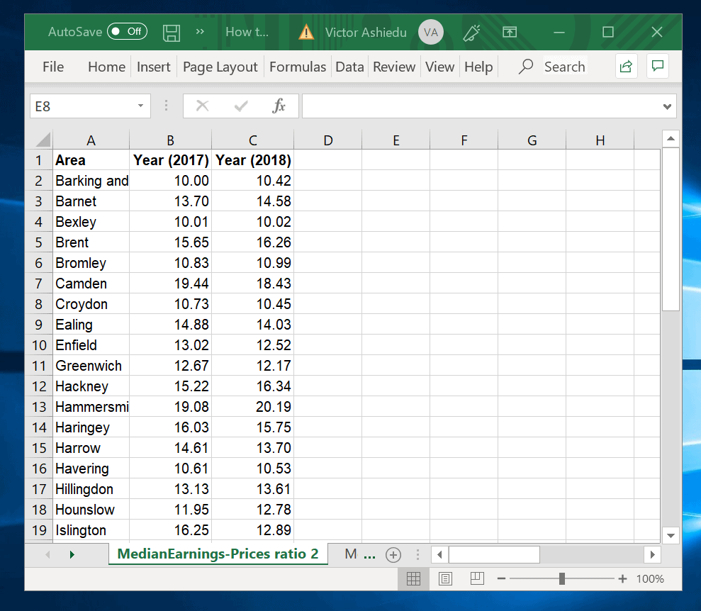 How to Make a Scatter Plot in Excel with Two Sets of Data