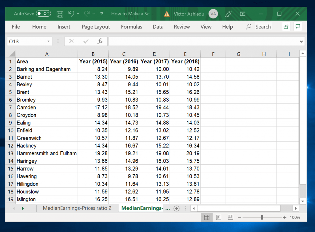How to Make a Scatter Plot in Excel with Multiple Data Sets - multiple data sets