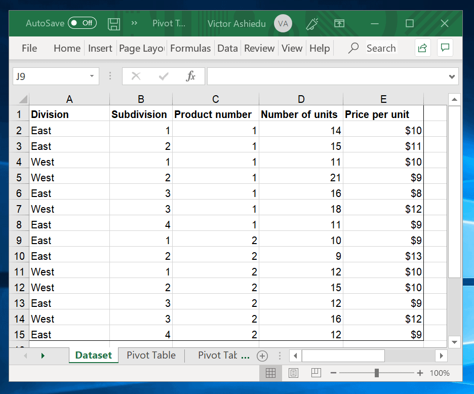 How To Make A Pivot Table In Excel Itechguides Com