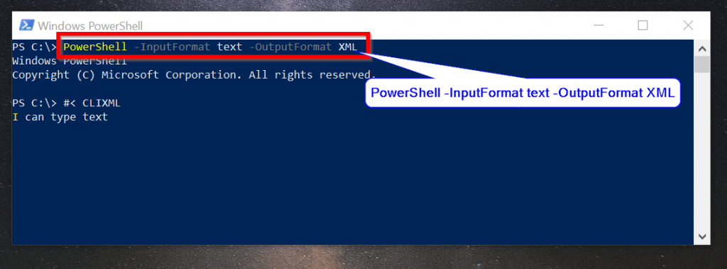 powershell.exe command