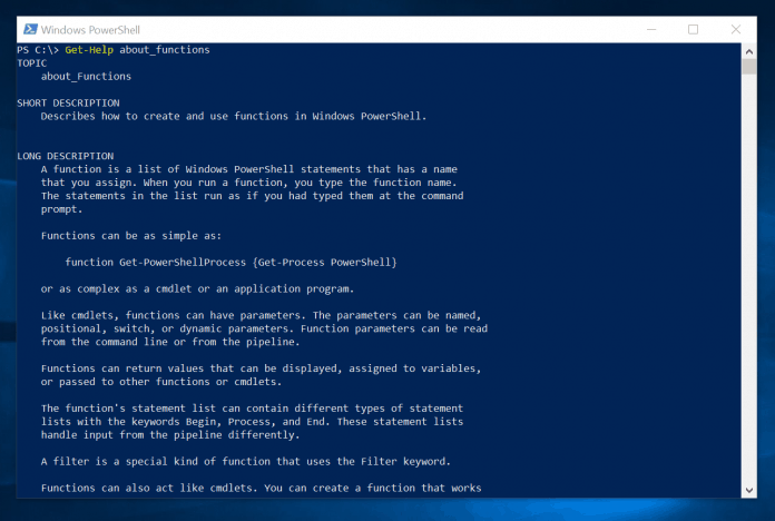 PowerShell Function: Syntax, Parameters, Examples
