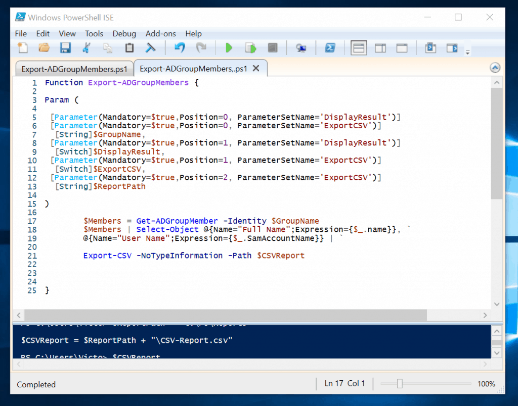 Powershell Param: Syntax, Types, Attributes and Examples