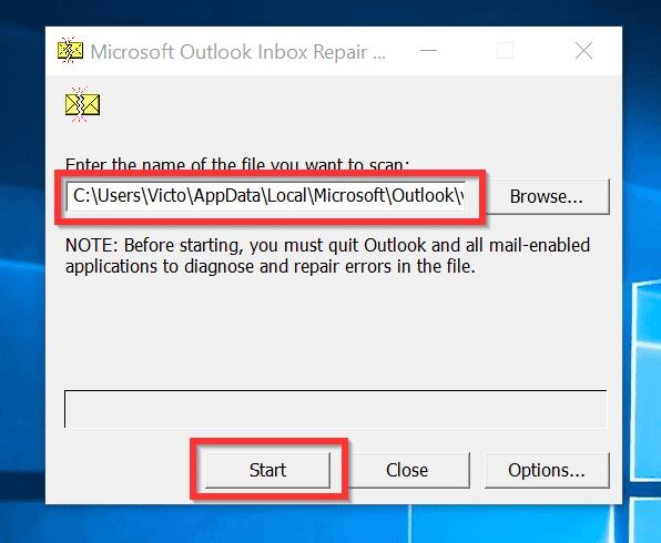 Inbox Repair tool для Outlook