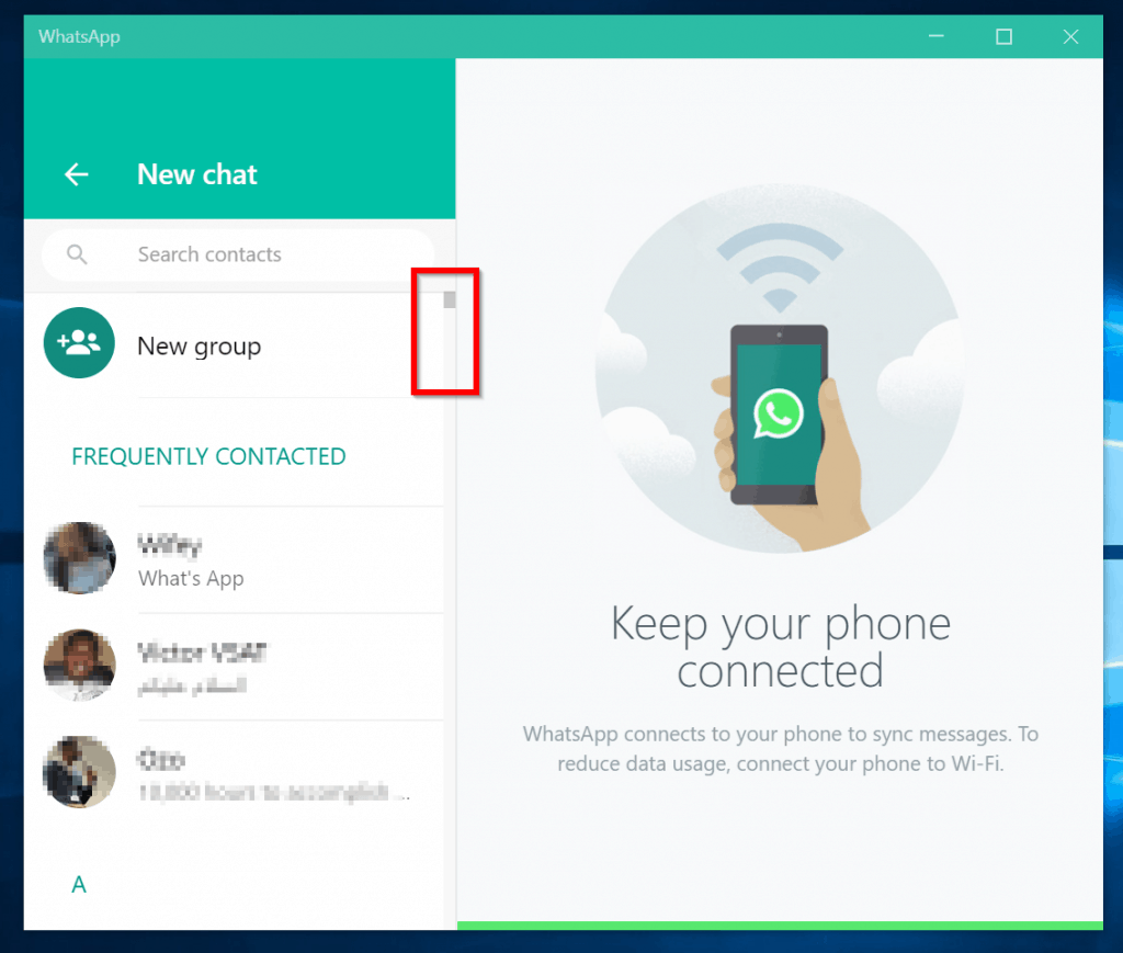 This image has an empty alt attribute; its file name is whatsApp-connected-to-PC-start-a-new-chat-2-1024x869.png