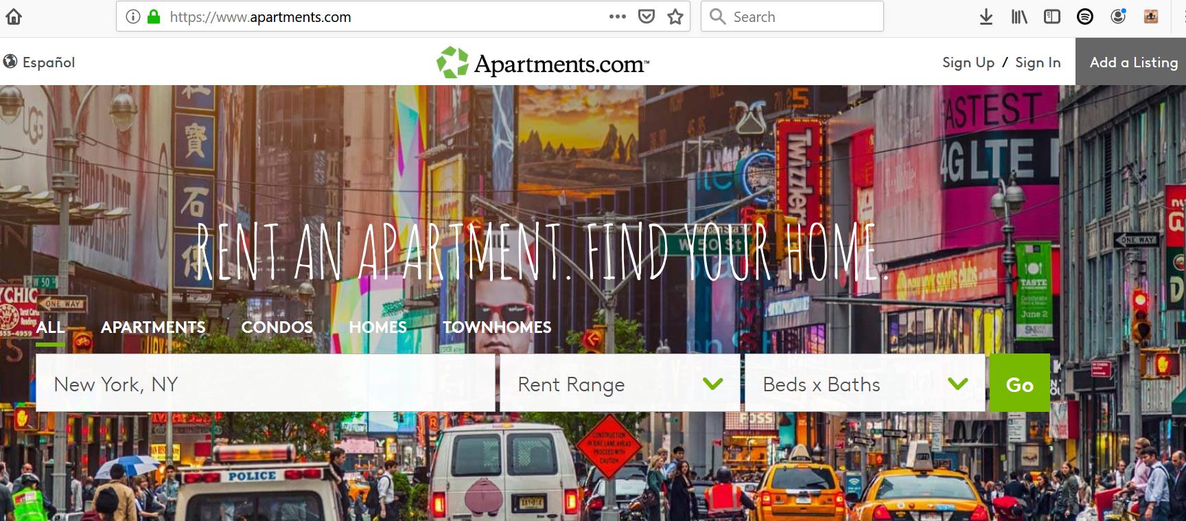 Websites Like Craigslist for Apartments - Apartments.com