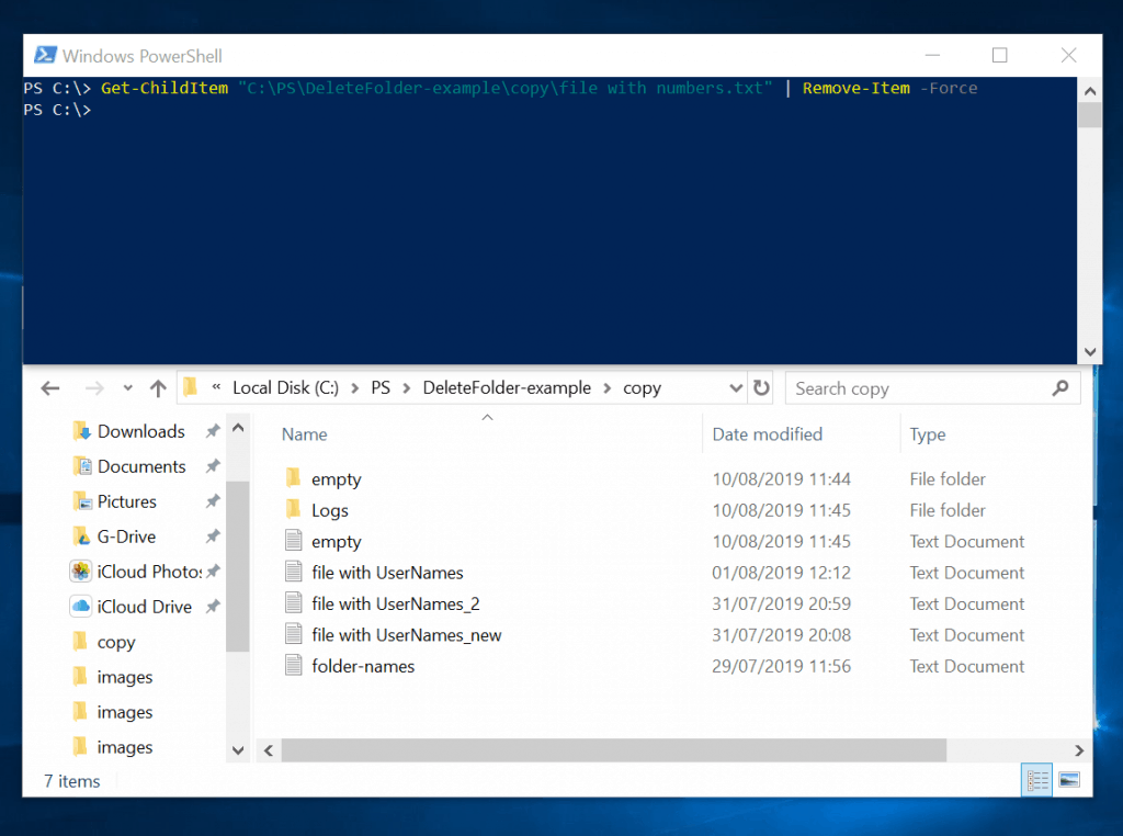 Powershell Delete Folder or File: How to Delete Folders