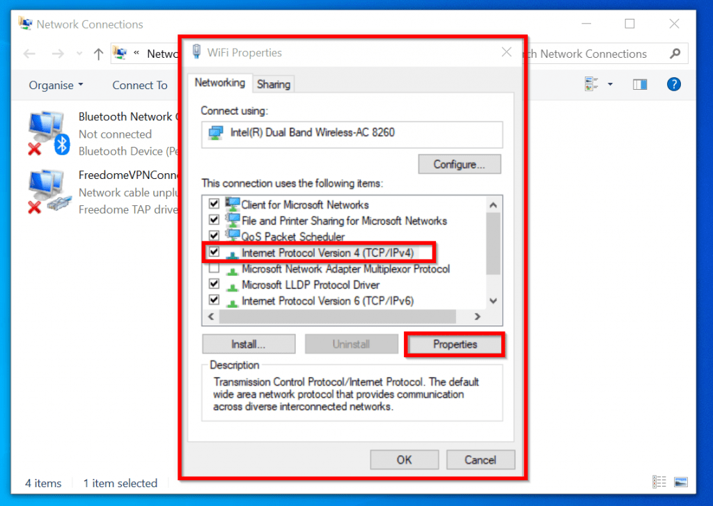 Wifi doesn t have a valid IP configuration