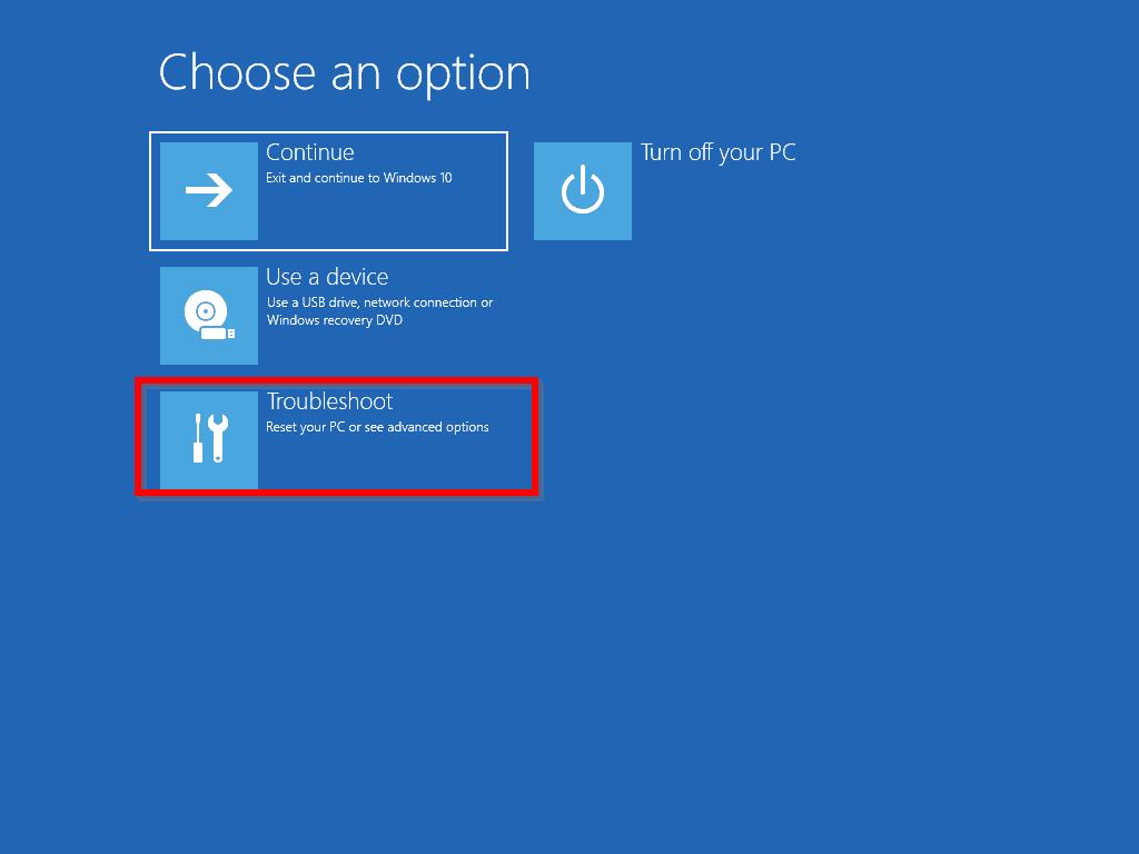 BootMgr is missing Windows 10
