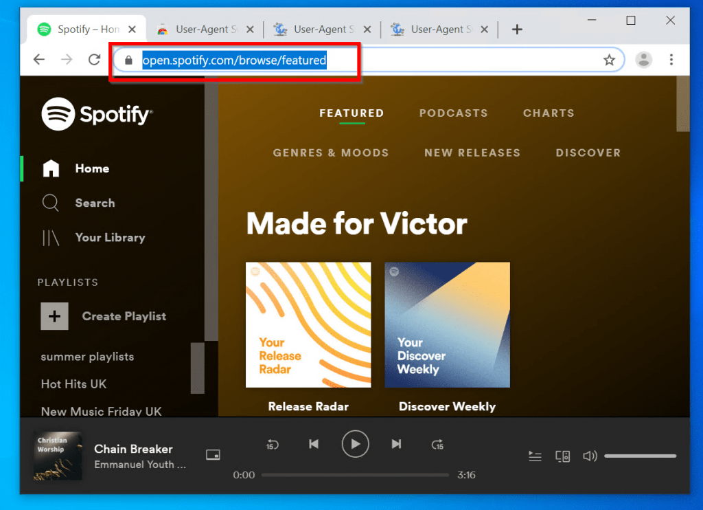 "Steps to Fix ""Spotify no Longer Supports this Version of Chrome"" Error"