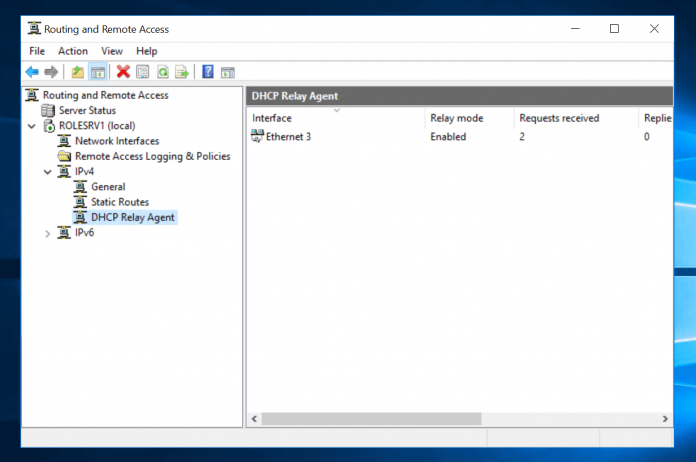 DHCP Relay Agent Windows Server 2016 Not Working [Fixed]