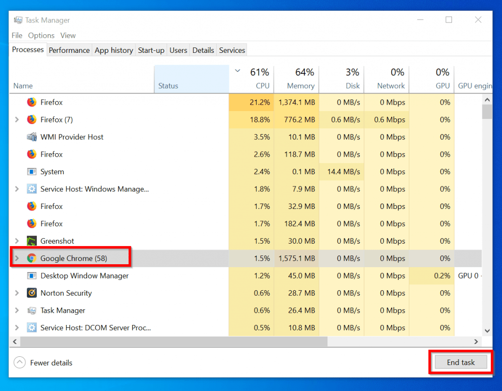 spotify no longer supports this version of chrome - end Chrome sessions on task manager