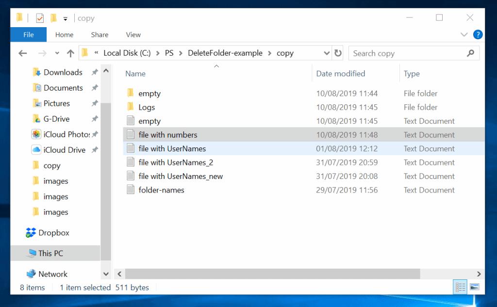 Powershell Delete Folder or File: How to Delete Folders