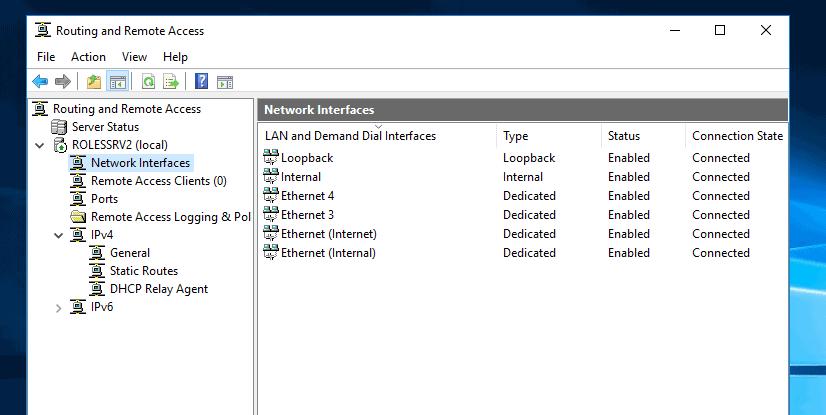 """Configurez le VPN dans Windows Server 2016: configurez l'agent de relais DHCP """"class ="""" wp-image-19022 """"srcset ="""" https://www.itechguides.com/wp-content/uploads/2019/08/image-420.png 826w , https://www.itechguides.com/wp-content/uploads/2019/08/image-420-300x151.png 300w, https://www.itechguides.com/wp-content/uploads/2019/08/ image-420-768x386.png 768w, https://www.itechguides.com/wp-content/uploads/2019/08/image-420-696x350.png 696w """"values ="""" (largeur maximale: 826px) 100vw, 826px"""