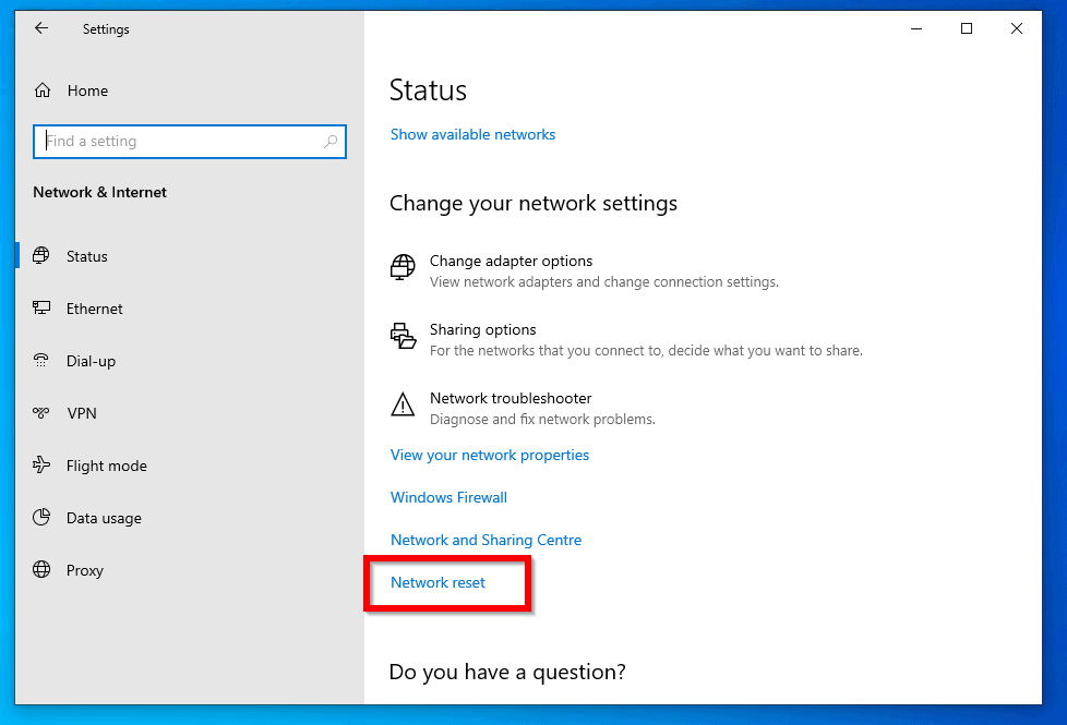 Windows could not automatically detect this network's proxy settings