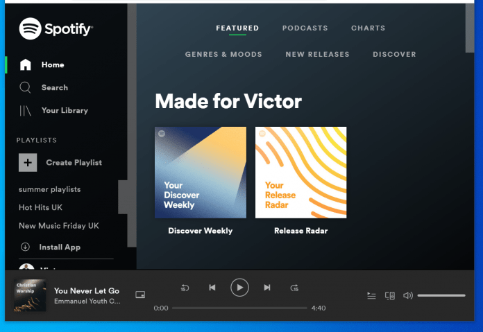 spotify no longer supports this version of chrome