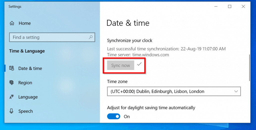 Windows 10 Time Sync Not Working Windows 10 Clock Time wrong