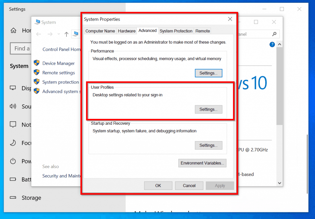How To Delete Corrupt User Profile Windows 10 How to Delete