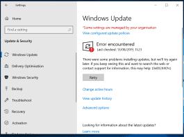 windows update 0x8024401c