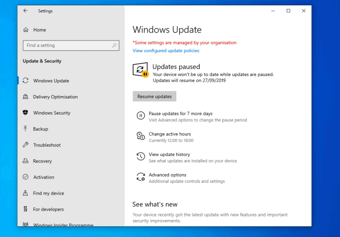 New Features of Windows 10 May 1903 Feature Update