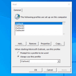 How to Create a New Outlook Profile (3 Methods)