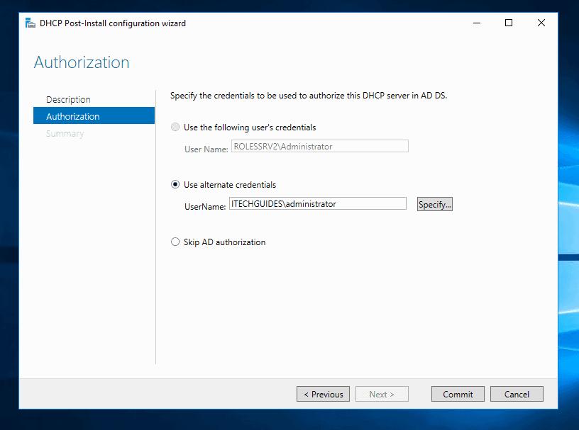 How to Setup DHCP Server 2016   iTechguides com