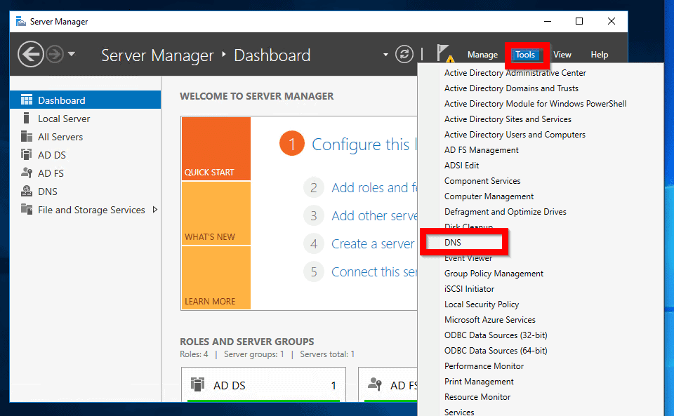 how to install and configure dns on windows server 2016 - How to Create a Forward Lookup Zone