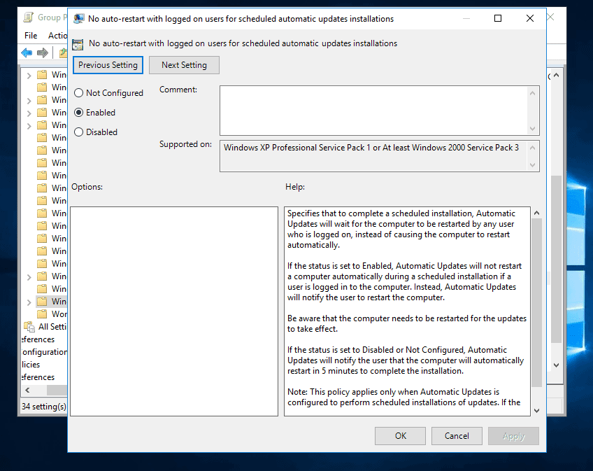server 2016 not downloading updates from wsus