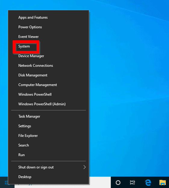 Change Computer Name from Windows 10 Settings