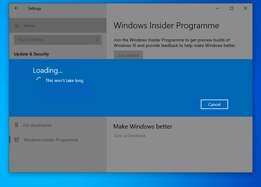 Join Windows Insider Program from Your Computer